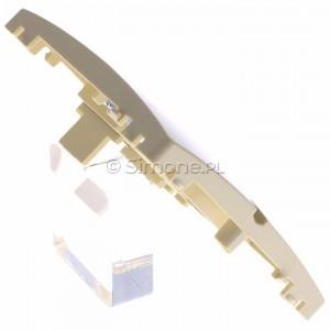 Simon Basic BMGK1P/11 - Pokrywa podwójna płaska do wkładu gniazda telefonicznego bez mostka - Biały - Podgląd zdjęcia 360st. nr 3