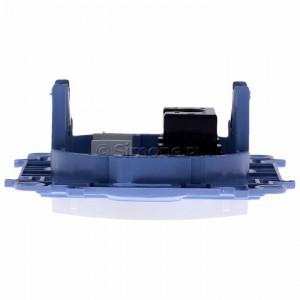 Simon 10 C51.01/11 - Gniazdo komputerowe pojedyncze RJ45 kat. 5 - Biały - Podgląd zdjęcia 360st. nr 8