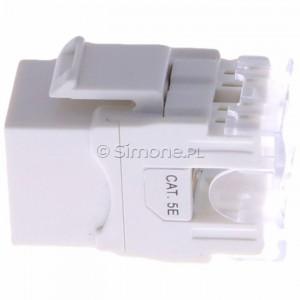 Simon 54 CJ545U - Wkład gniazda komputerowego RJ45 kat. 5e UTP (nieekranowany) S-Connect - Podgląd zdjęcia 360st. nr 6