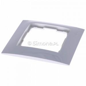 Simon 54 Premium DR1/11 - Ramka pojedyncza - Biały - Podgląd zdjęcia 360st. nr 2