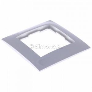 Simon 54 Premium DR1/11 - Ramka pojedyncza - Biały - Podgląd zdjęcia 360st. nr 5