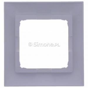 Simon 54 Premium DR1/11 - Ramka pojedyncza - Biały - Podgląd zdjęcia 360st. nr 9