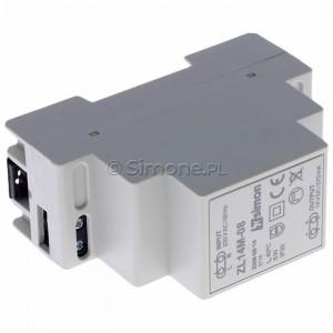 Simon 54 ZL14M-08 - Zasilacz LED modułowy 14V, DC, 8W - Podgląd zdjęcia 360st. nr 5